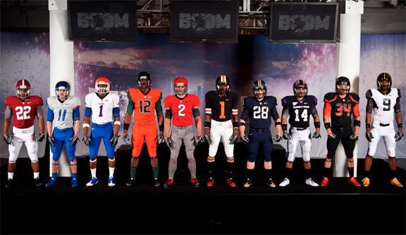 Nike Pro-Combat College Football Uniforms - SportsCenter.com- ESPN 2836dc9c4