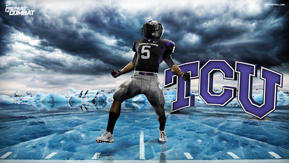 c920d24b2 Nike convened distinguished representatives associated with each university  to deliver the uniforms' unique stories: TCU ...