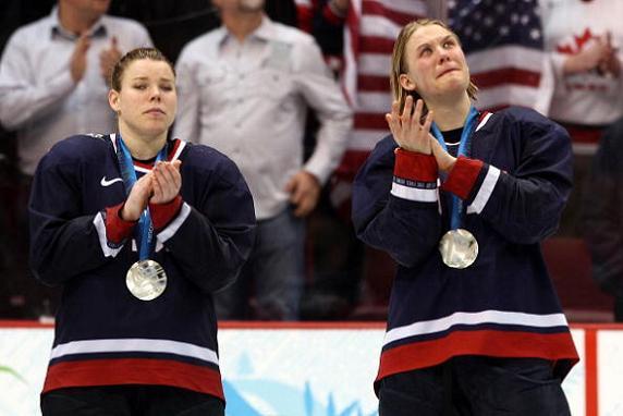 USA Silver Medal - Women's Hockey