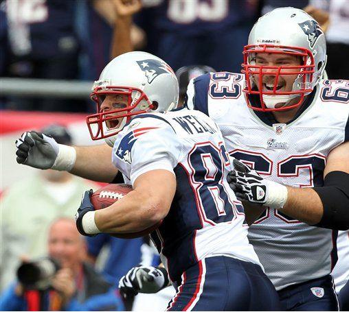 Wes Welker and Dan Connolly